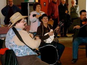 Front Porch Pickin' at January 3rd Mkt